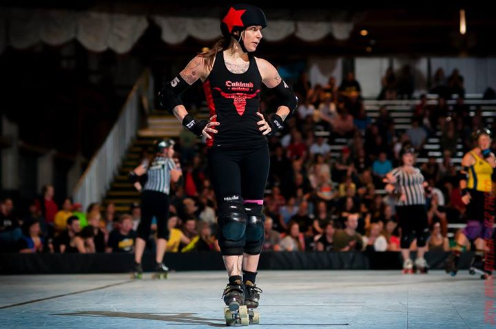 """Vegan Outreach Office Manager, and amazing Derby girl - Josie """"Colt 45"""" Moody"""