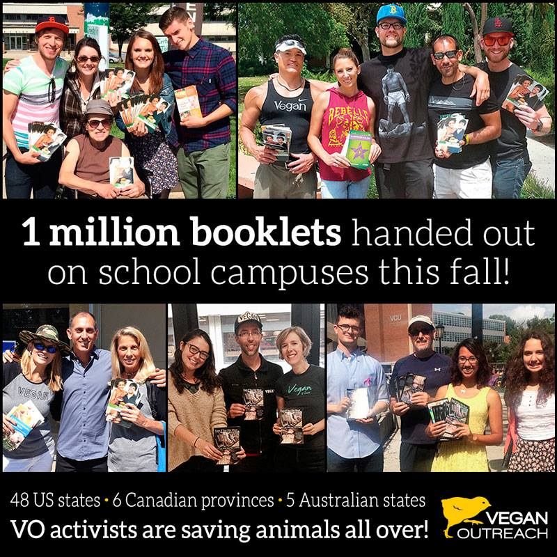 1 million booklets handed out on school campuses this fall!