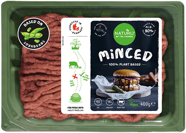 "Naturli plant-based ""Minced"""