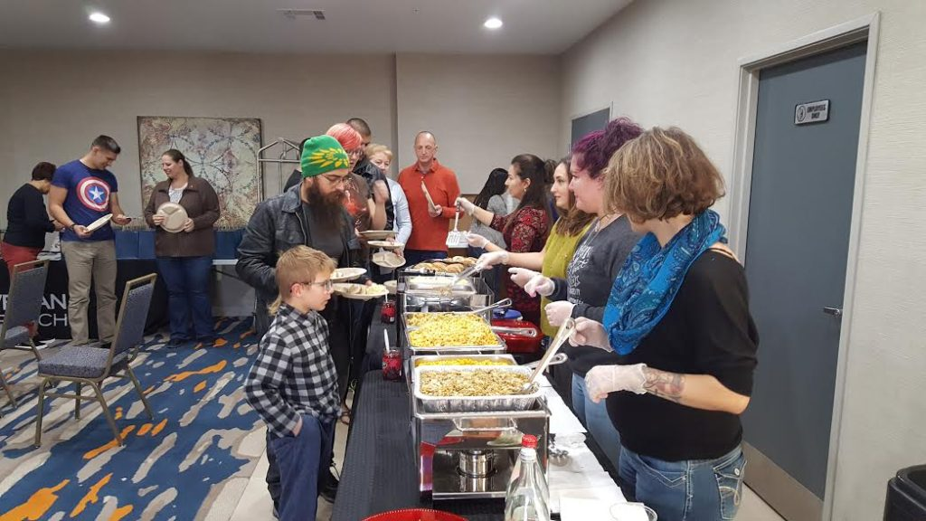 Alamogordo Event Serving Food