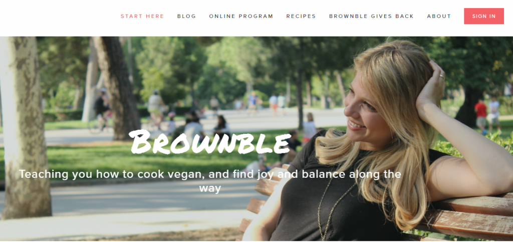 Brownble Website