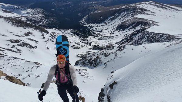 Carl Mountain Climbing