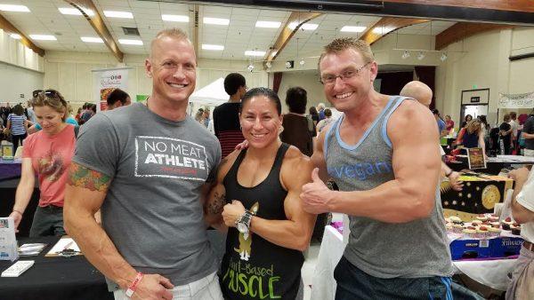 Carl Pluim, Vanessa Espinoza, and Robert Cheeke