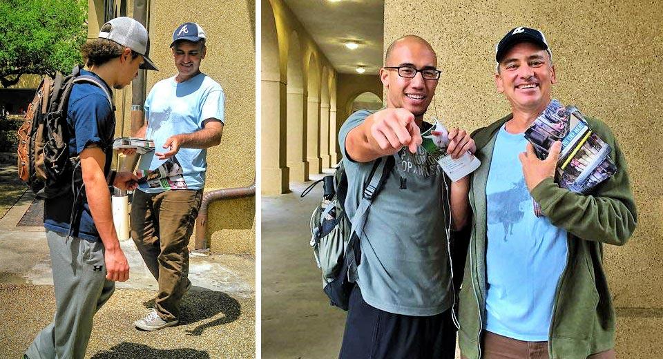 Yuri Mitzkewich and Tommy at LSU