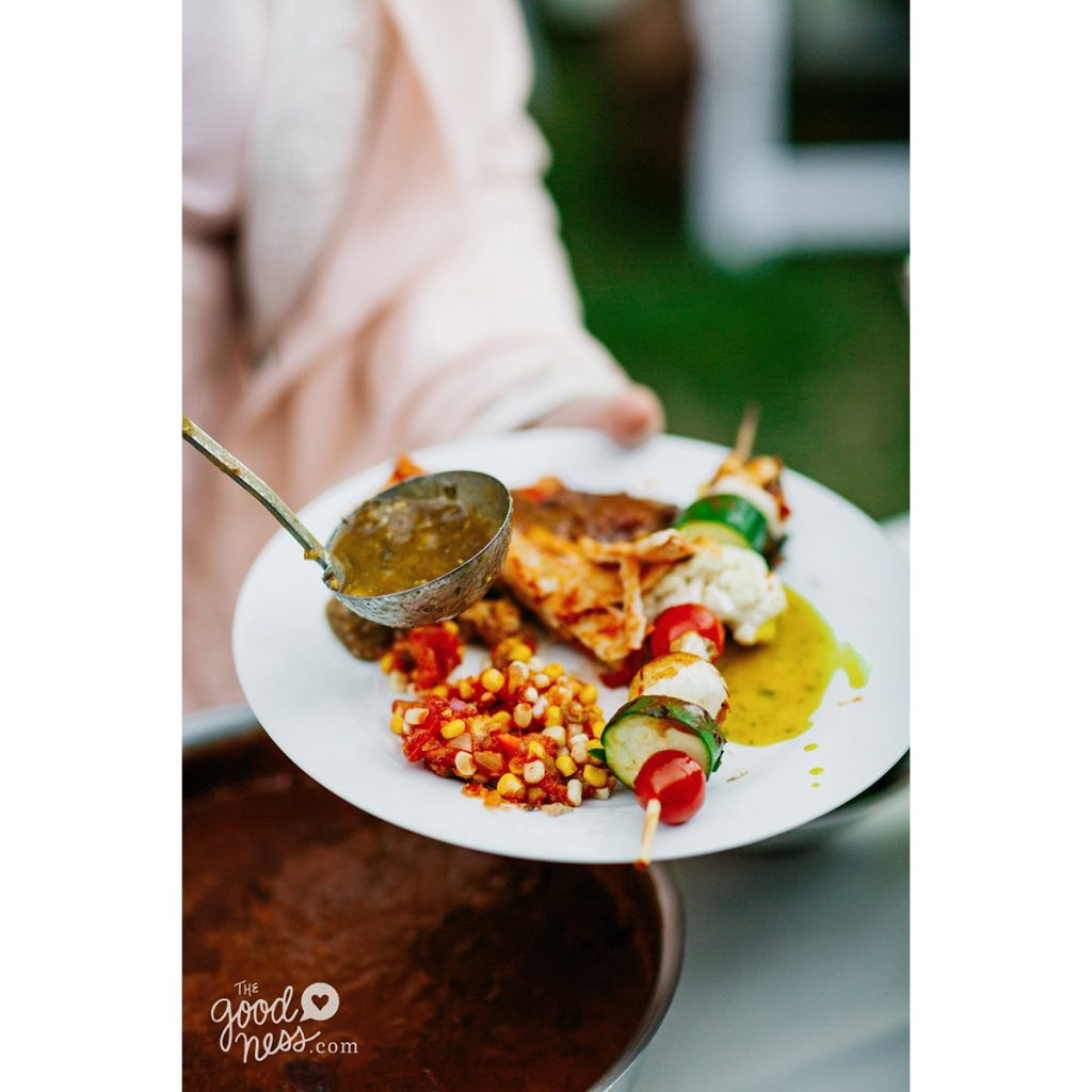 Vegan Wedding Food: Donor Spotlight: Corinna's Vegan Wedding