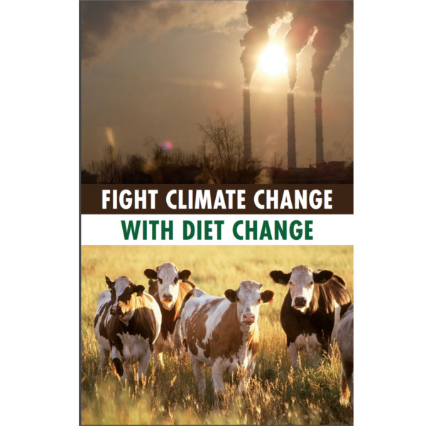 Fight Climate Change with Diet Change Booklet Cover