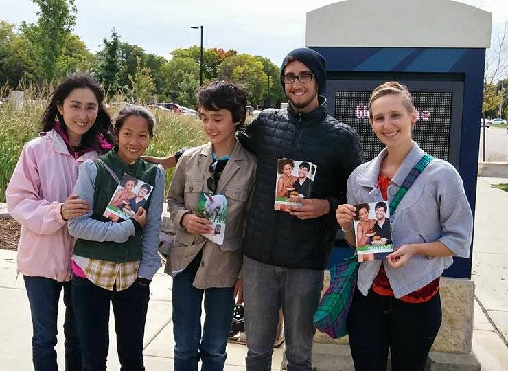 Sumiko, Iris, Miles, Steven, and Kristen at MATC
