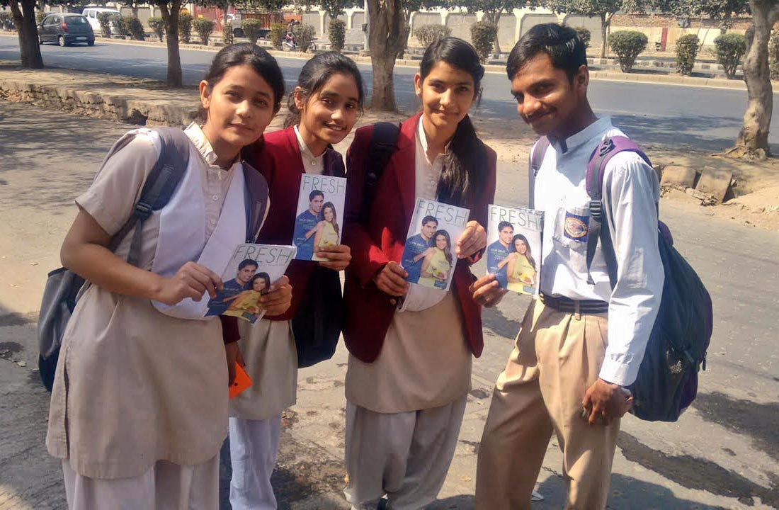 Students at RPVV Sector 10 Dwarka