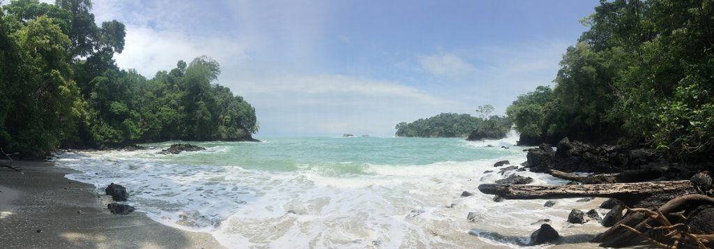 Hidden Beach at Manuel Antonio National Park
