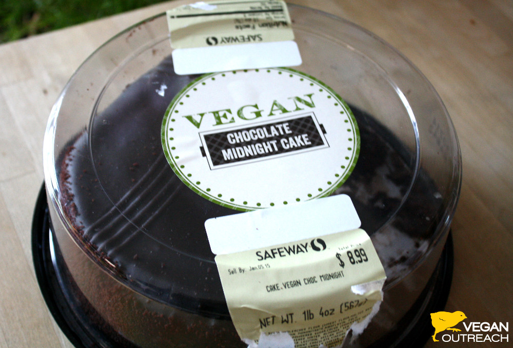 Tremendous Safeway Has A Vegan Cake Funny Birthday Cards Online Elaedamsfinfo