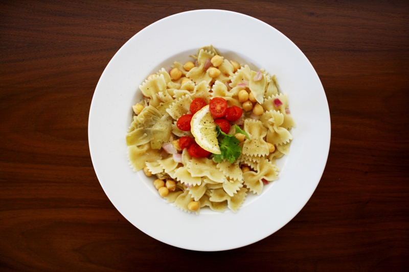 Light Summer Bowtie Recipe by Vegan Outreach