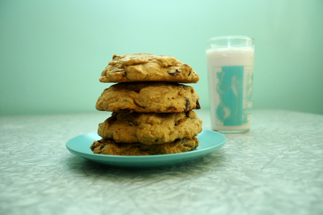 Vegan Pumpkin Chocolate Chip Cookies by Vegan Outreach