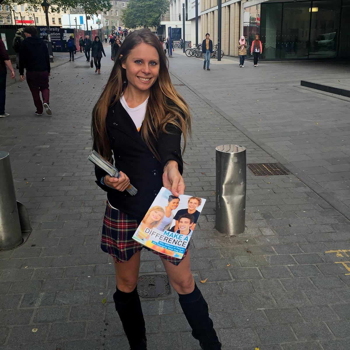 Kim at Edinburgh