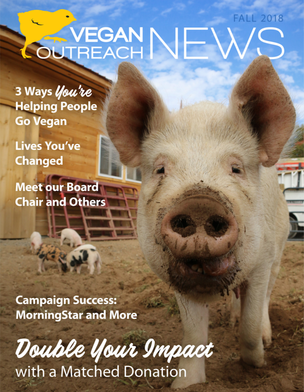 Fall 2018 Vegan Outreach News
