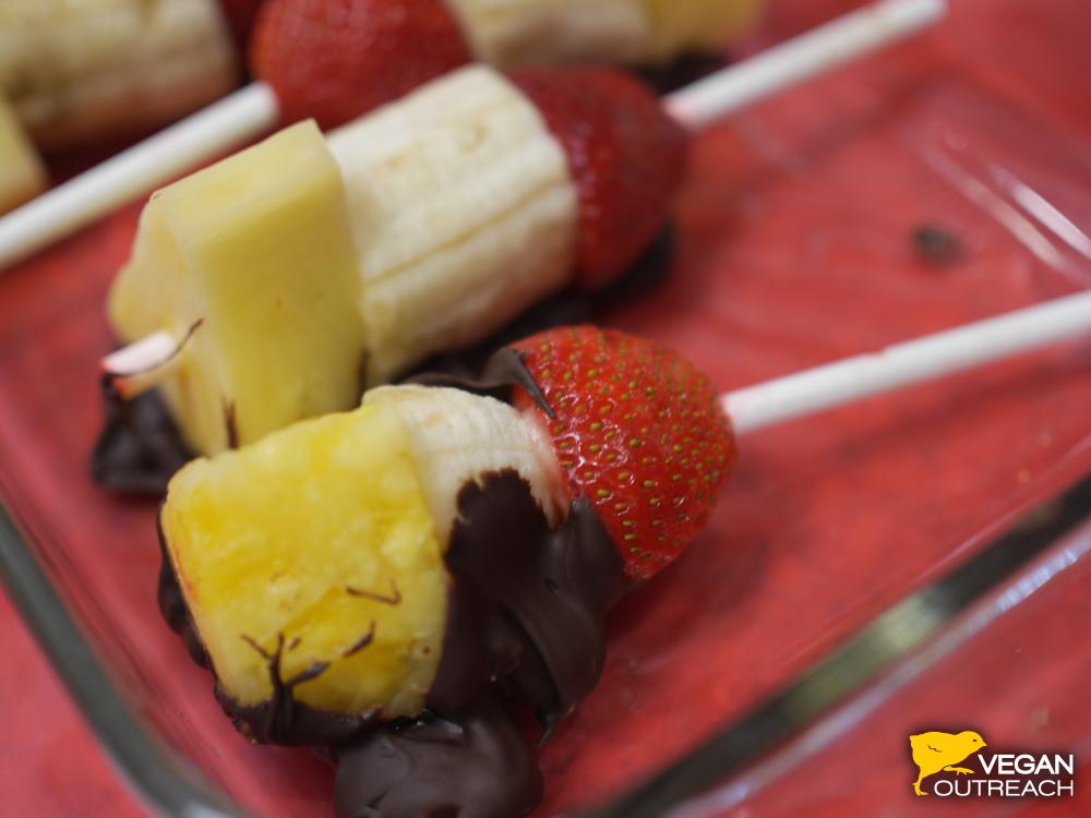 A healthy dessert! Find recipe at VeganOutreachBlog.com