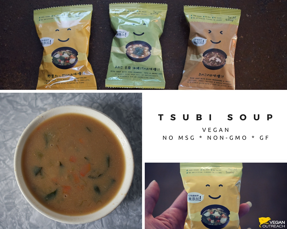 Vegan Outreach reviews the Tsubi Soup!