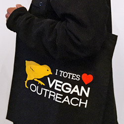 VO Tote Bag – I Totes Heart Vegan Outreach