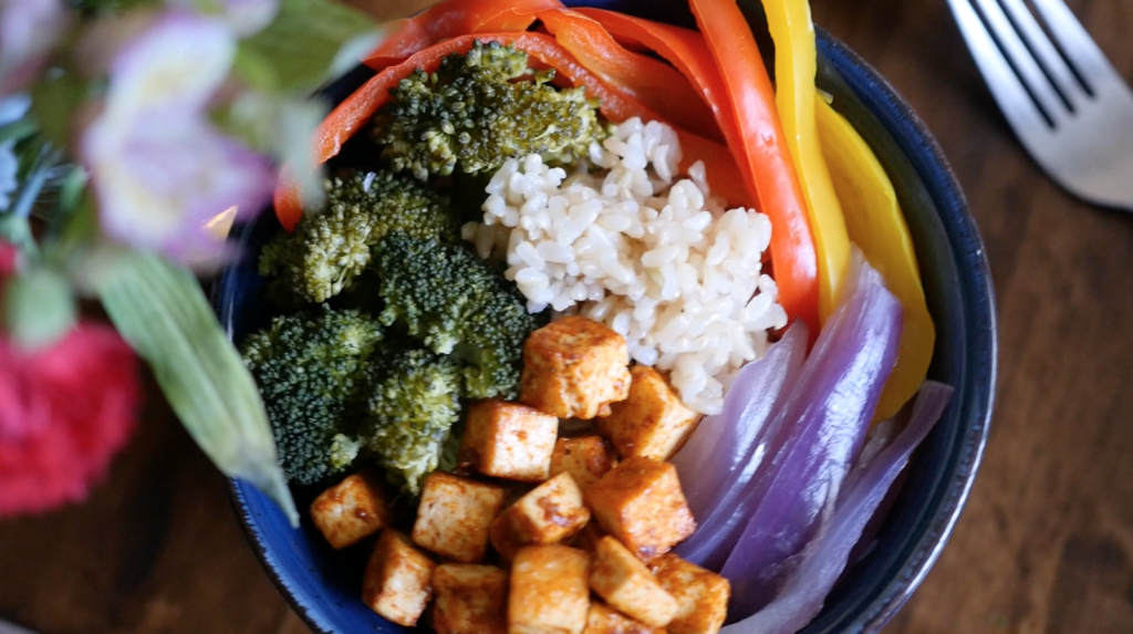 NEW VIDEO: Learn to make a Buddha Bowl from World of Vegan