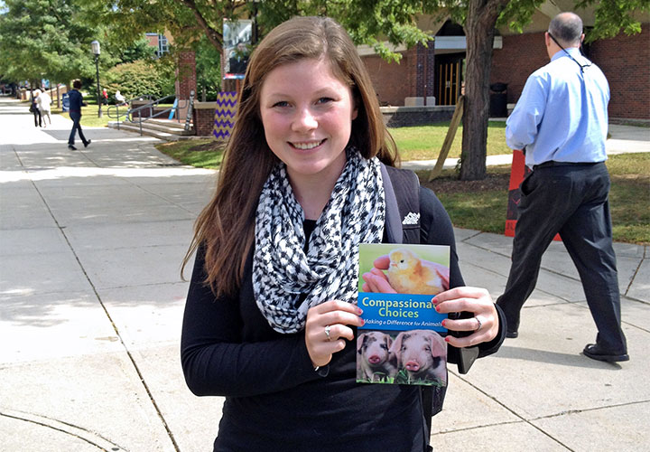 Shannon at Keene State