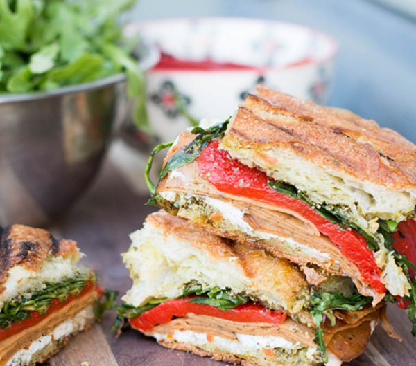 tofurky-roasted-red-pepper-panini