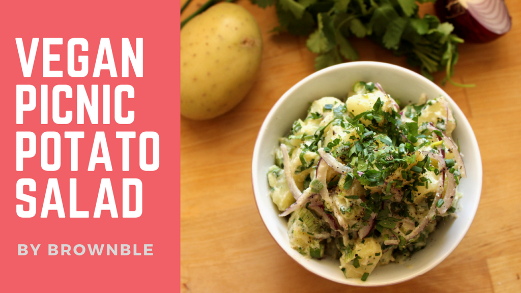 Vegan Picnic Potato Salad