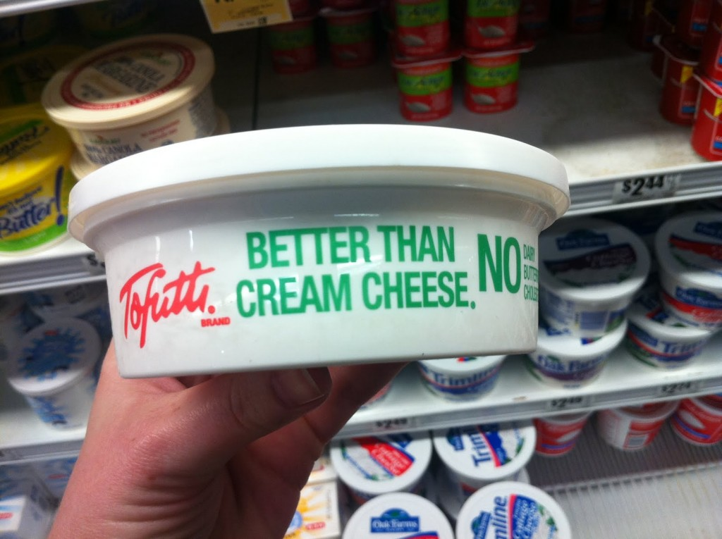 "Toffuti ""Better Than Cream Cheese"""