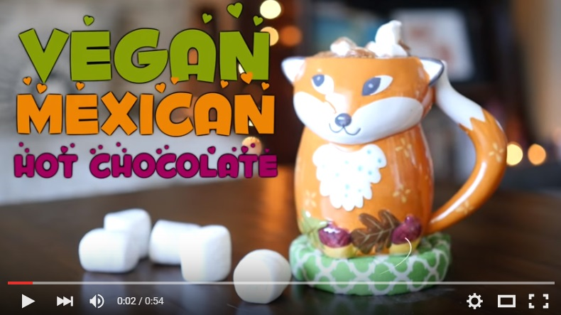 Recipe for Vegan Mexican Hot Chocolate!