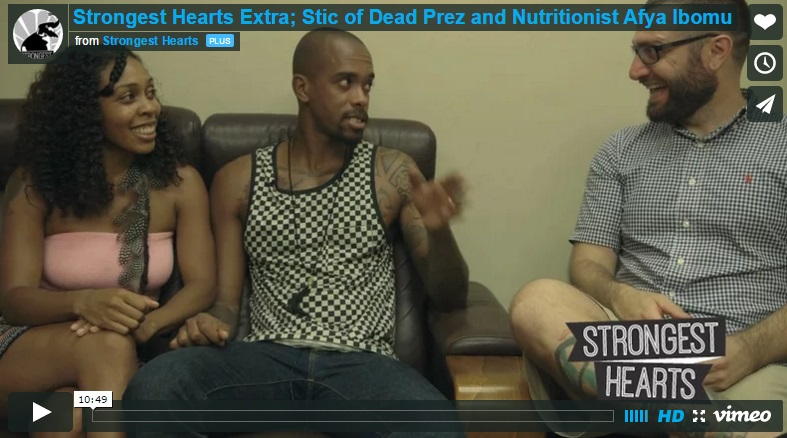Strongest Hearts interviews Stic of Dead Prez!
