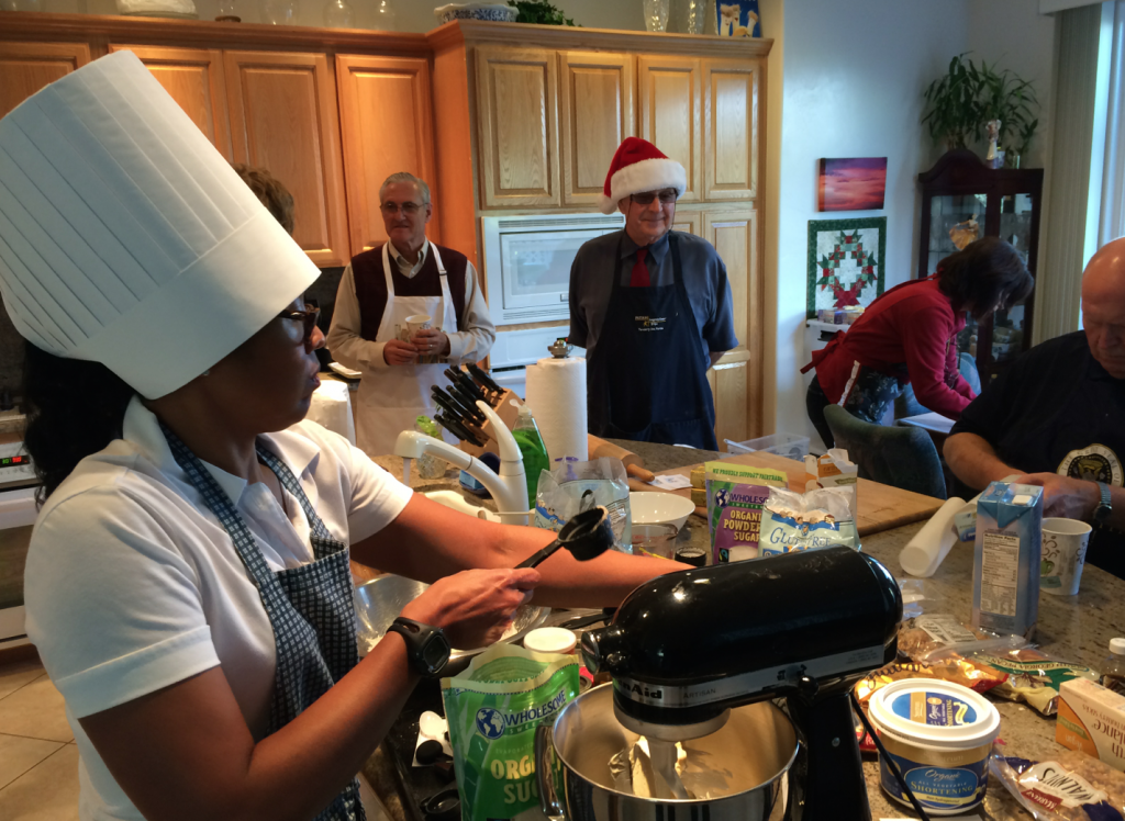Holiday cookie event raises funds for vegan outreach for Gina s italian kitchen